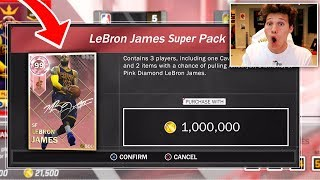 1 MILLION VC SPECIAL PACK - WE PULLED PINK DIAMOND LEBRON JAMES
