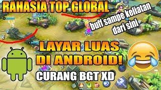 RAHASIA TOP GLOBAL LAYARNYA LEBIH LUAS DARI IPAD! TERNYATA BEGINI CARANYA - Mobile Legends Indonesia