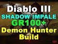 SHADOW IMPALE GR100+ Demon Hunter Build (Diablo 3)