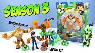 Ben 10 Reboot Action Figures Season 3 Kevin 11 Humungousaur Rath