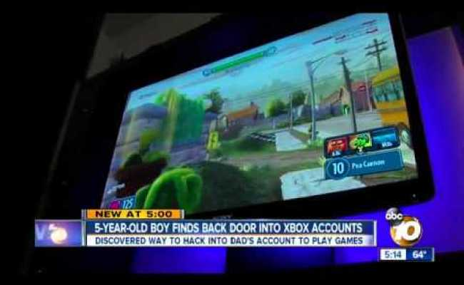 Xbox One Account Hacked By Five Year Old Boy Youtube