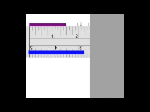 Measuring eighth of an inch - YouTube
