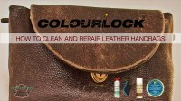 Leather Handbag Cleaning. Care Touch Leather Wipes