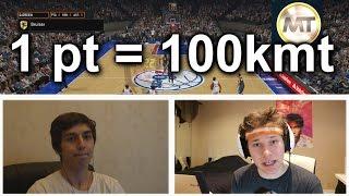 1 POINT = 100K MT WAGER VS LNU - NBA 2K16