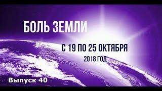 Катаклизмы за неделю с 19 по 25 октября