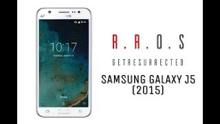 Resurrection ROM Android 7.1.2 For Samsung J5 2015 With Adoptable Storage