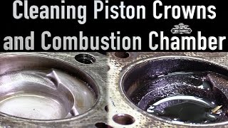 Removing Carbon From Piston, Cylinder Walls, and Block Deck