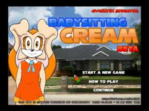 Babysitting cream sex game full version