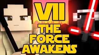 Minecraft Parody - STAR WARS: THE FORCE AWAKENS! - (Minecraft Animation)