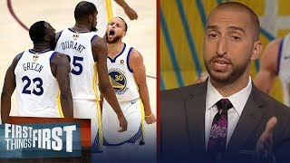 Nick Wright: 'Warriors are a lot of things, Organic isn't one of them'   NBA   FIRST THINGS FIRST