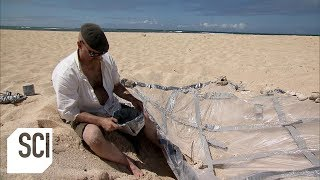 Can a Solar Still Generate Enough Fresh Water for Survival? | MythBusters