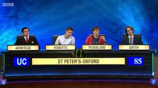 University Challenge S44E05 St Peter's - Oxford vs Sussex