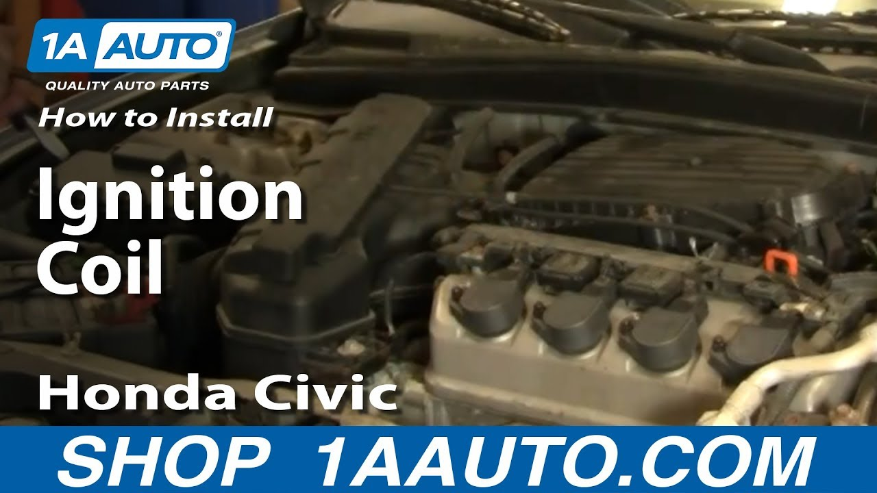 Honda Distributor Wiring Diagram How To Install Replace Ignition Coil Honda Civic 01 05