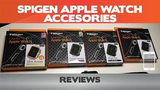 Spigen Apple Watch Case Reviews - Thin Fit, Slim/Tough Armor & Liquid Crystal