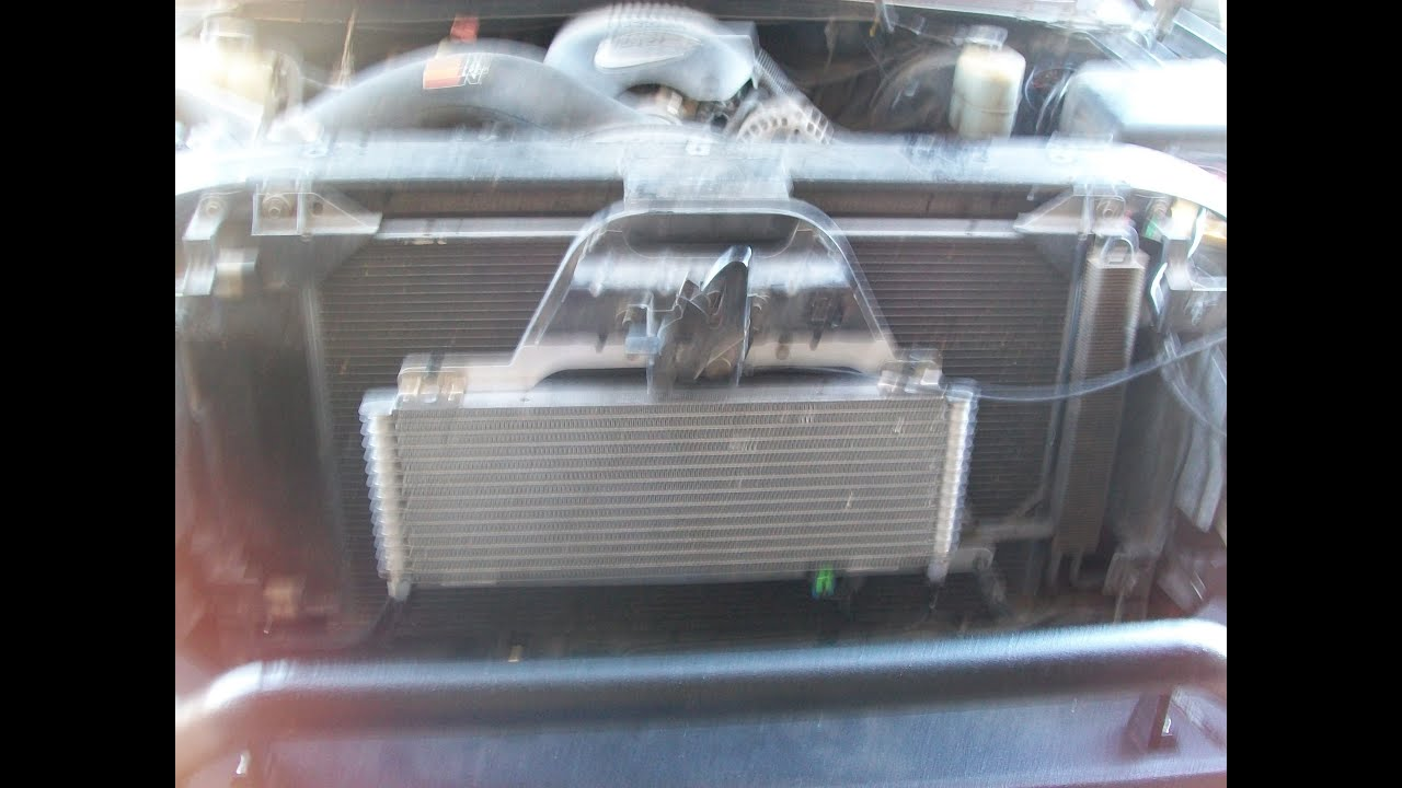 2010 Camaro Engine Cooling System Diagram Aftermarket Gm Transmission Cooler Install 99 06 Youtube