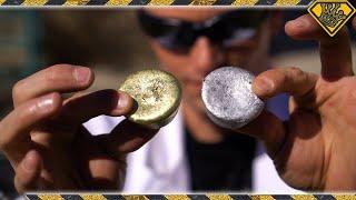 Mixing Molten Aluminum With Molten Brass