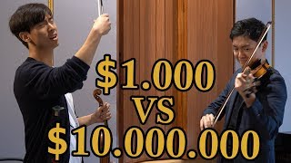 $1000 vs $10,000,000 Violin