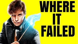 Why Fantastic Beasts: The Crimes of Grindelwald Failed