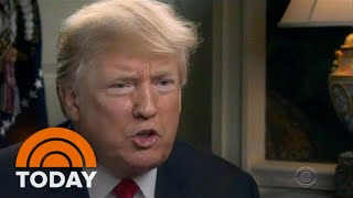 President Donald Trump's '60 Minutes' Interview: Climate Change, Russia And Brett Kavanaugh   TODAY