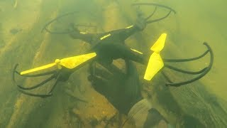 Found Drone Underwater in River Lost 4 Years Ago! (Scuba Diving)