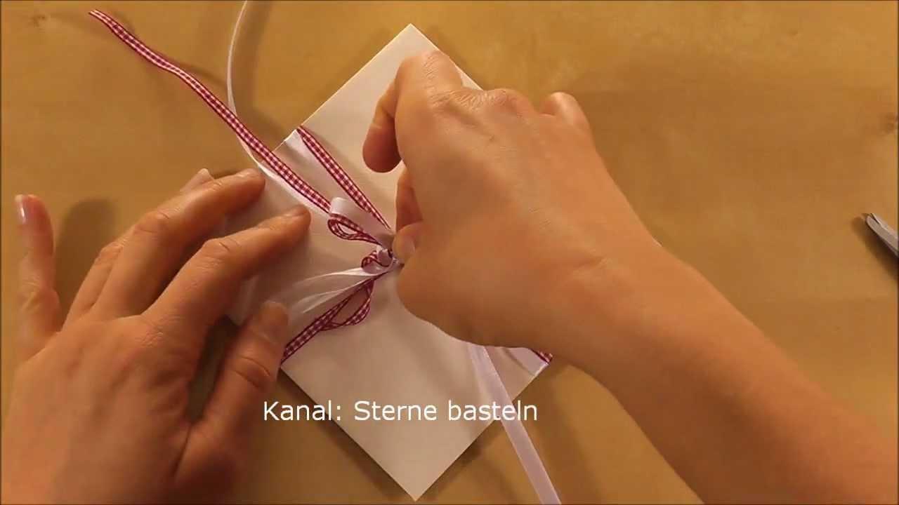 Gutscheine verpacken  Gutschein als Geschenk verpacken  YouTube