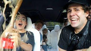 Watch COCA COLA VS MENTOS INSIDE CAR!! Video