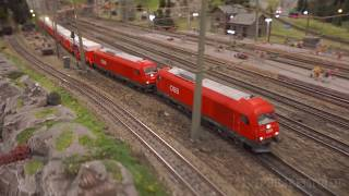 The fantastic miniature world of model railroading and railway modelling in Germany
