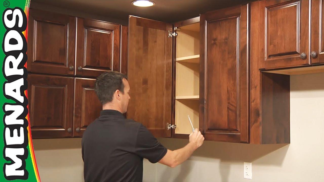Kitchen Cabinet Installation  How To  Menards  YouTube