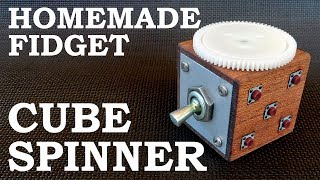 Homemade Fidget Cube Spinner Combo DIY