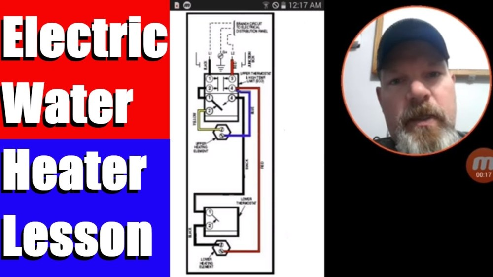 medium resolution of hot water heater wiring from fuse box