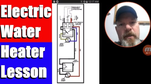 small resolution of hot water heater wiring from fuse box