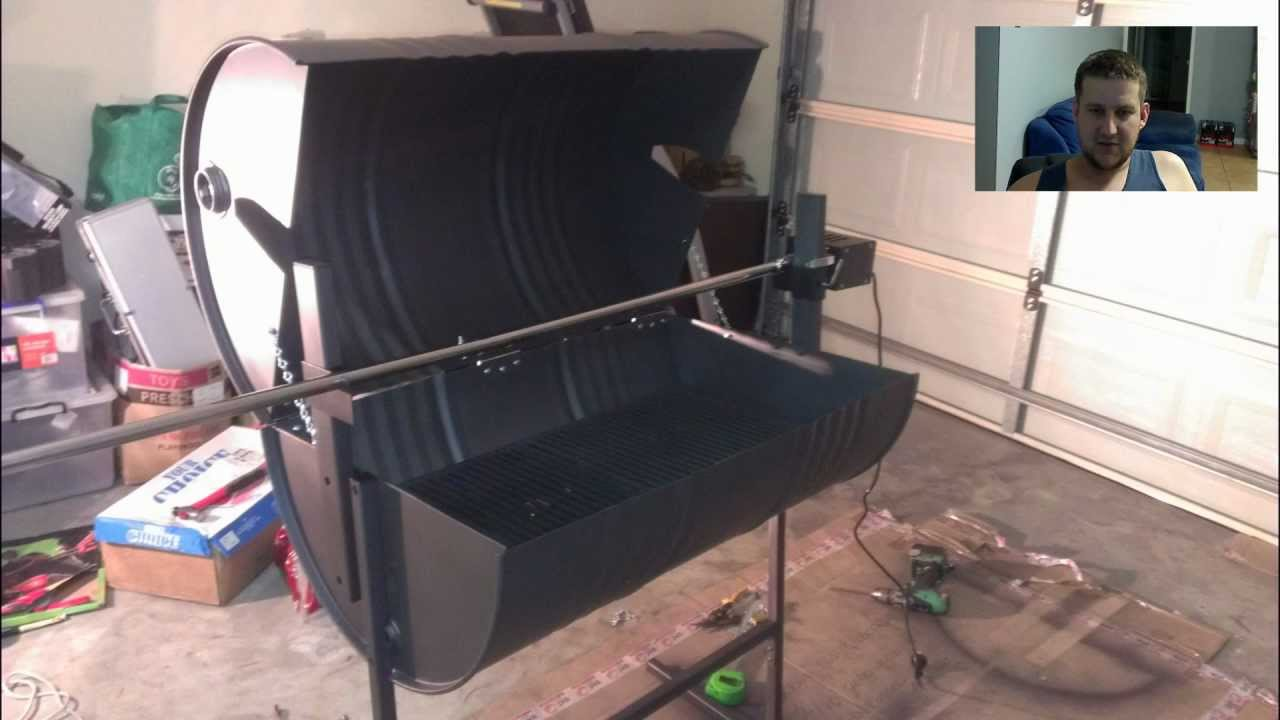 Chingy Lees Awesome Homemade Gas Powered Spit