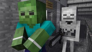 Zombie Life 4 - Minecraft Animation