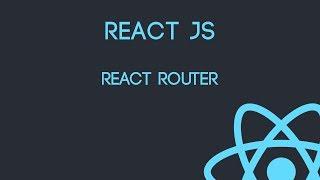Curso de React Js - React Router
