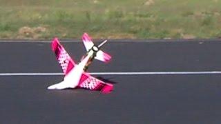 HobbyKing Stinger Mark 2 jet crashes twice