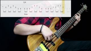 Marvin Gaye & Tammi Terrell - Ain't No Mountain High Enough (Bass Cover) (Play Along Tabs In )