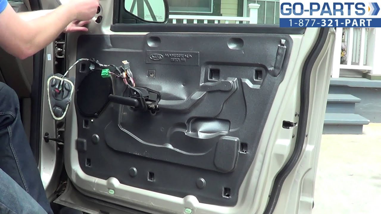 2006 Ford Fusion Stereo Wiring Diagram Replace 2001 2005 Ford Explorer Side Mirror How To Change