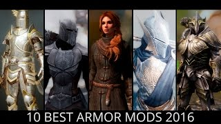 Skyrim - Top 10 Best Armor Mods 2016 Free Download Video MP4 3GP M4A