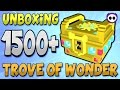 UNBOXING OVER 1500 TROVE OF WONDER (ToW) BOXES IN TROVE!