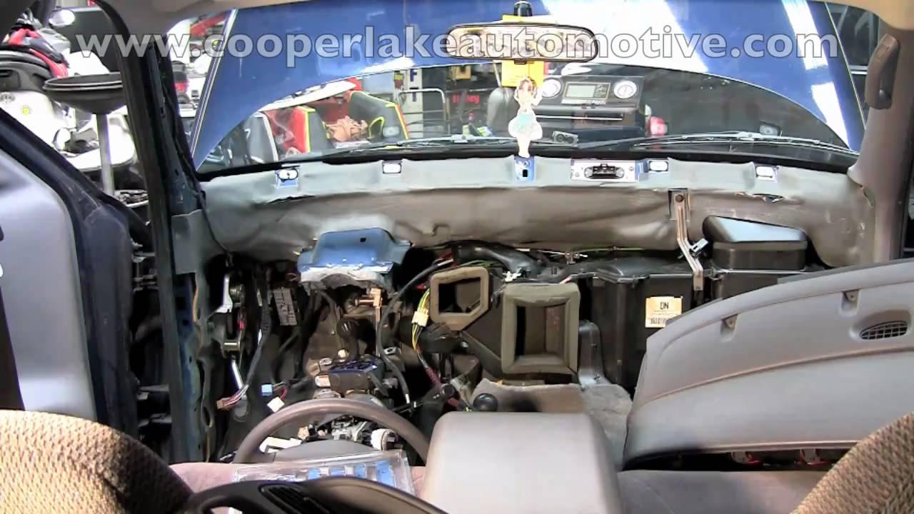 96 Suburban Blower Motor Wiring Diagram Durango Heater Core Youtube
