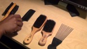 gentleman's corner - hair brushes
