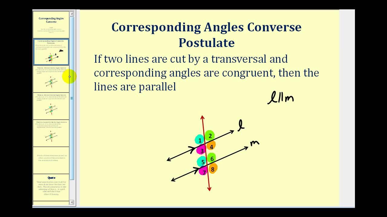 Are Alternate Interior Angles Congruent