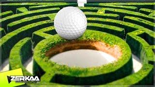 THE GOLF MAZE! (Golf It!)