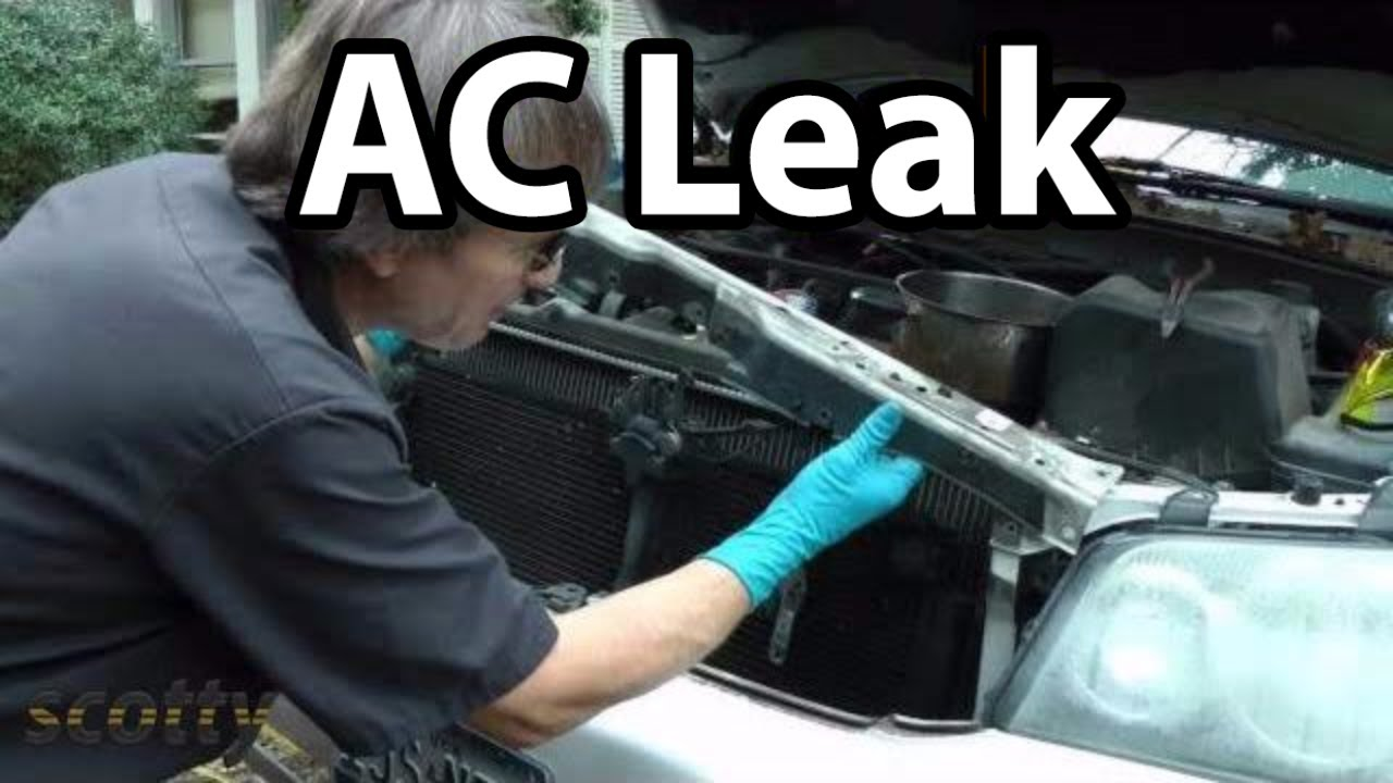 Ac Power Plug Wiring Diagram How To Fix Small Ac Refrigerant Leaks On Your Car Youtube