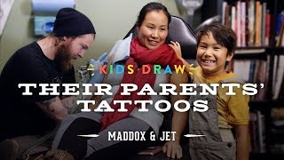 Maddox Designs a Tattoo for His Mom | Kids Draw | Cut
