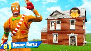 The ONE HOUSE CHALLENGE in Fortnite Battle Royale