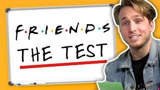WE TAKE ″THE TEST″ FROM FRIENDS (Squad Vlogs)