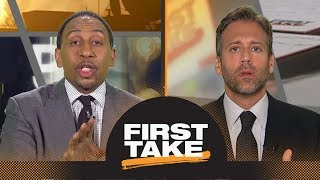 Stephen A., Max debate if Durant, Klay or Draymond will leave Warriors first   First Take   ESPN