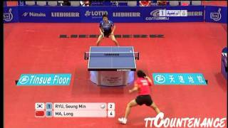 World Team Cup: Ma Long-Ryu Seung Min