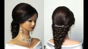 wedding prom mermaid hairstyle